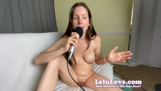 PORN Podcast Topless girl talks addiction & sex behind scenes – Lelu Love
